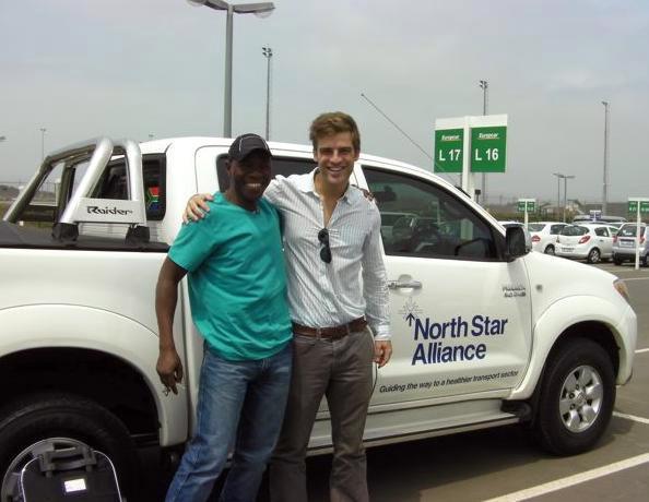 Phillippe Duterloo at North Star Alliance Truck