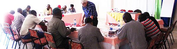 Art for AIDS International Truck Driver Workshop in Beitbridge Zimbabwe